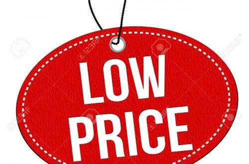 bajar precio